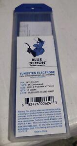 EWCe-2 .040 2/% ceriated tungsten electrodes Blue Demon 10 pack gray