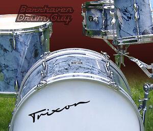 Trixon-60s-Vintage-Repro-Logo-Adhesive-Vinyl-Decal-for-Bass-Drum-Reso-Head