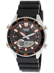 Casio-Men-039-s-Ana-Digi-AMW720-1AV-Silver-Resin-Japanese-Quartz-Fashion-Watch