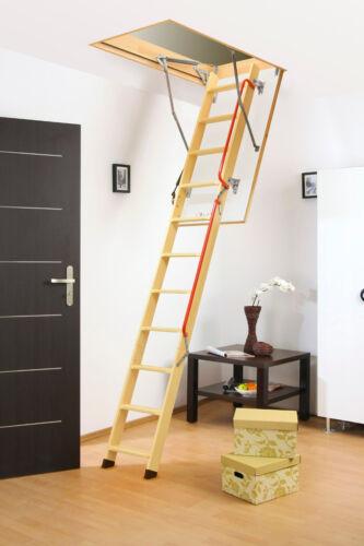 Bodentreppe FAKRO LWL LUX 70x120 x280cm Mehrteilige Bodentreppen