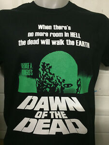 DAWN-OF-THE-DEAD-SHIRT-zombie-horror-george-romero-dvd-poster-ALL-SIZES