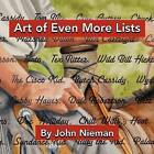 Art of Even More Lists by John Nieman (Paperback / softback, 2011)
