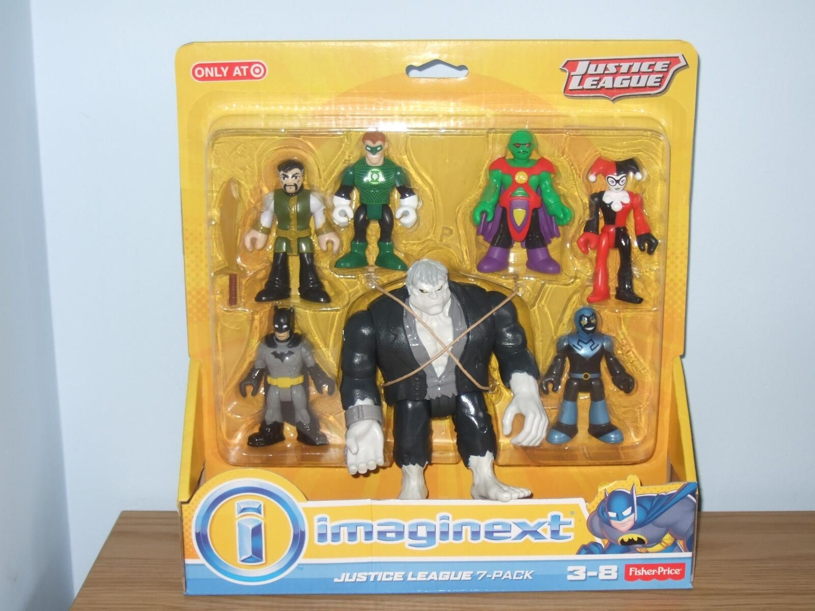 Imaginext Batman Justice League, Solomon Grundy, etc - Brand New In Box