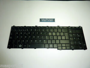 Tastiera-Spagnolo-Portatile-Toshiba-Satellite-C660-C660D-C665-L650-P-N
