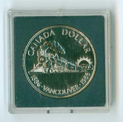 Uncirculated Type Canada 1986 SILVER Dollar .500 Fine BU