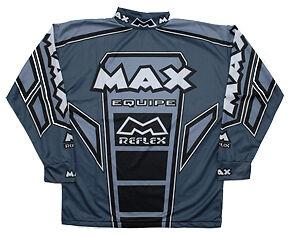 Wulfsport-max-equipe-grey-race-shirt-size-XXL-motocross-motorbike-MX-leisure
