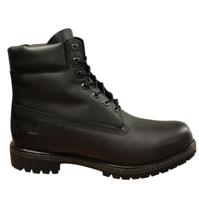 casual shoes new authentic best online Timberland Premium 6 Inch Waterproof Leather Mens Lace Up Boots Black A1MA6  D32