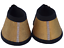 Pair Multi Coloured Bell Boots with Sparkle diamonties Over Reach Boots