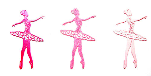 Dancer Any Colour 8 Spinning Charm Ballerina Die Cuts TL Ballet