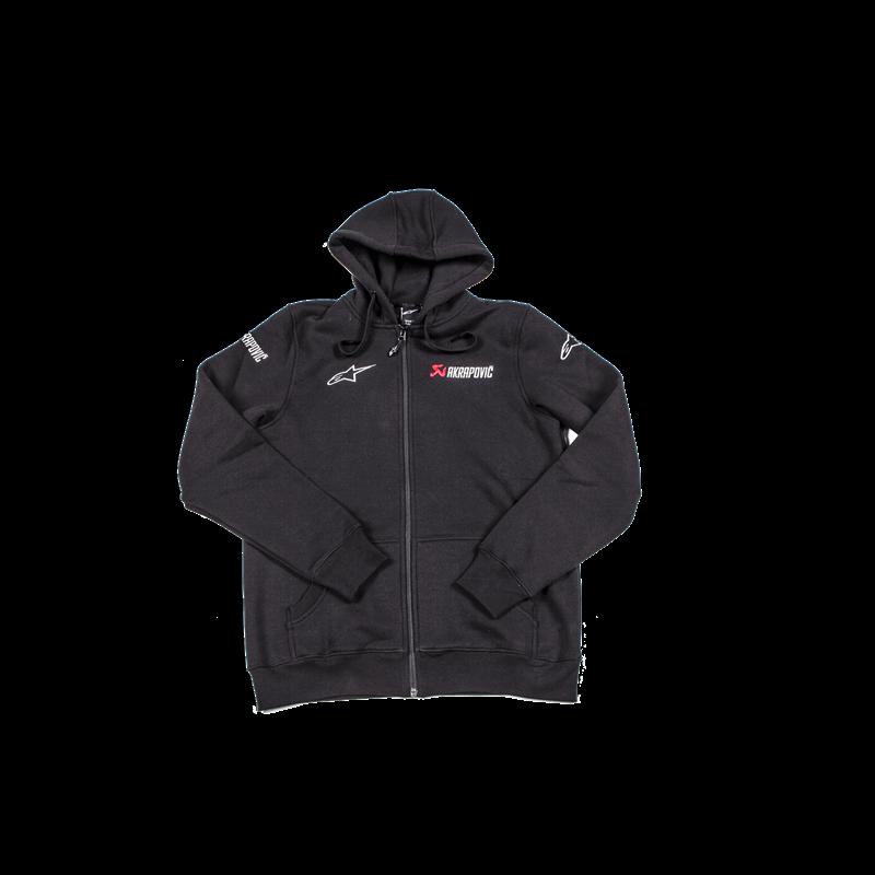 Akrapovic Hoodie Alpinestars Heavier Fabric Kapuzen Pullover Größe S