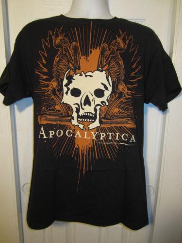 "Hot Topic Apocalyptica /""PRAYING SKELETON/"" T-Shirt"