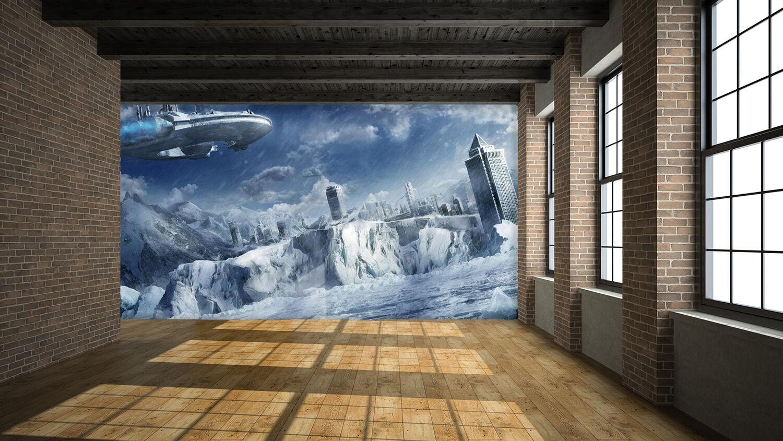 3D Universum  Fototapeten Wandbild Fototapete Bild Tapete Familie Kinder