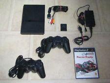 Playstation 2 Slim komplett mit 2 Controller + Spiel Tourist Trophy