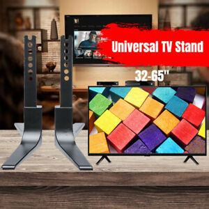 32-65inch-Adjustable-Universal-TV-Stand-Table-Top-Mount-Base-LCD-Flat-Screen