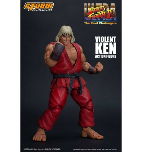The Final Challengers Storm Collectibles Ultra Street Fighter II Violent K
