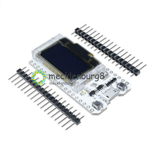 NEW ESP32 0.96/'/' inch OLED Bluetooth WIFI CP2102 Module 32M 3.3-7V for Arduino
