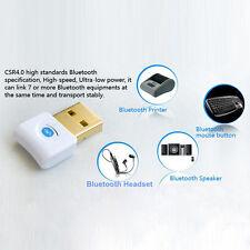 Wireless Bluetooth V4.0 USB Dongle Adapter CSR EDR for Windows 7/8 Vista XP 3Mbp