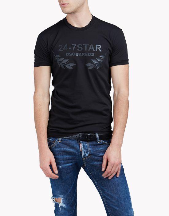 Genuine DsquaROT2 24-7 STAR T-shirt XXL 100% cotton