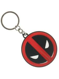 OFFICIAL-MARVEL-Comics-Deadpool-rond-symbole-metal-porte-cles-Nouveau