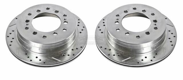 Disc Brake Rotor Rear Power Stop JBR1362XPR