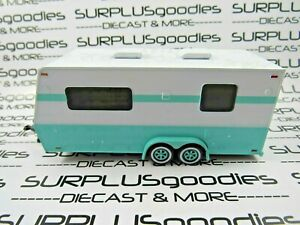 Johnny-Lightning-1-64-LOOSE-Turqos-Camper-Travel-Trailer-Home-Great-for-Diorama