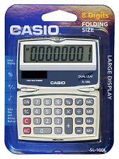 CASIO Standard Function SOLAR CALCULATOR 8-DIGITS Big Display Folding Hard Case