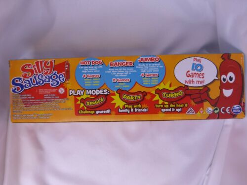 Silly Sausage Interactive Kids/' Game with Sound and Button