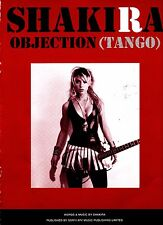 Objection (Tango) - Shakira - 2002 Sheet Music