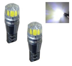 2-X-T10-168-194-W5W-501-White-LED-Car-Auto-Side-Wedge-Light-Lamp-Bulb-12V-CREE