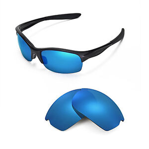 78b6fb0d521 New Walleva Polarized Ice Blue Replacement Lenses For Oakley Commit ...
