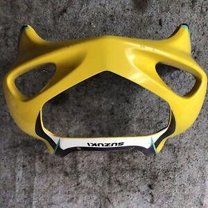 01-02-03-SUZUKI-GSXR-600-750-FRONT-UPPER-NOSE-FAIRING-HEADLIGHT-COWL-SHROUD-OEM