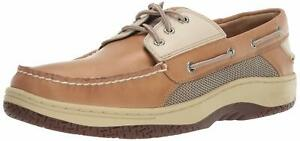 Sperry-Men-039-s-Billfish-3-Eye-Boat-Shoe-Tan-Beige