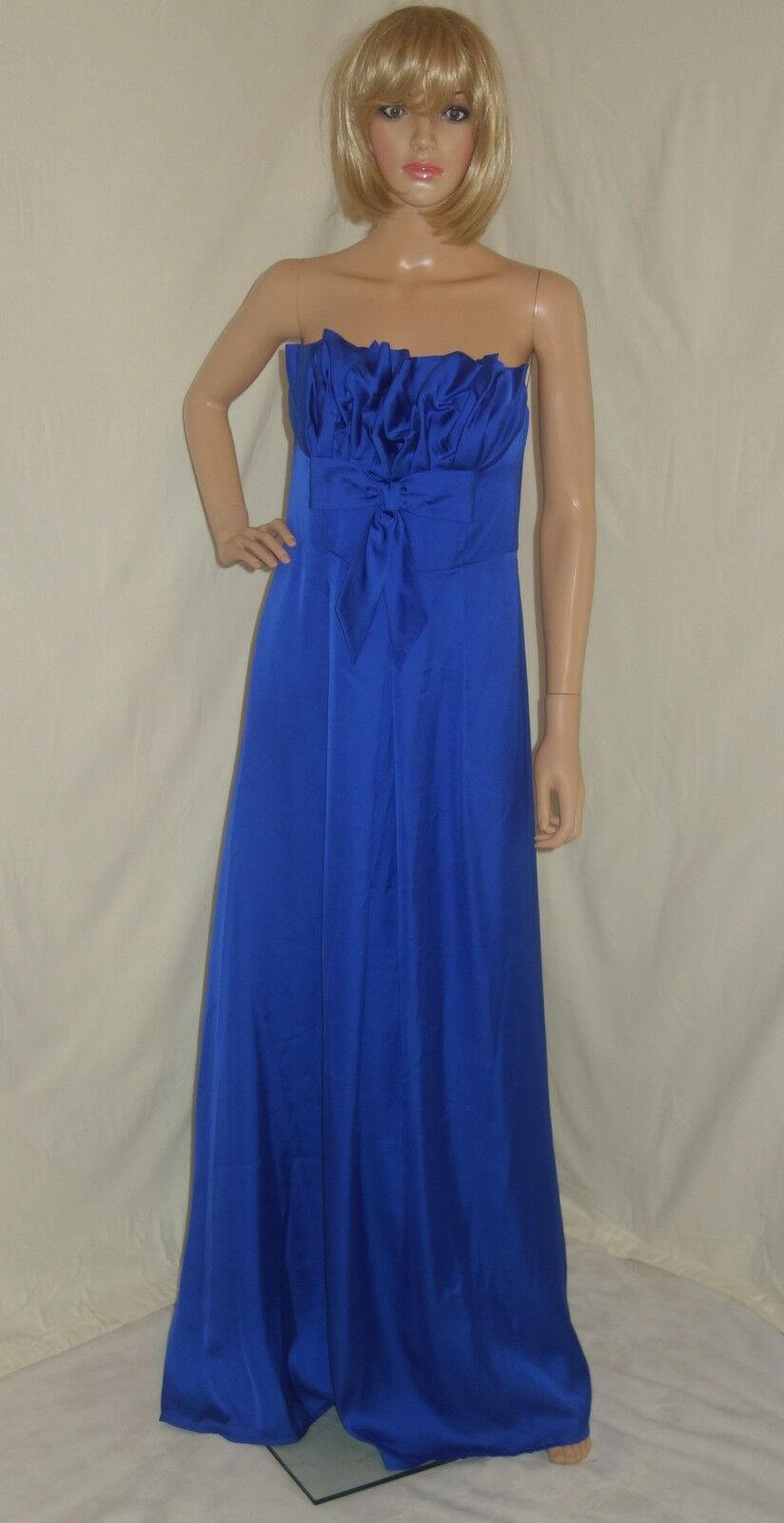 Elfe by Elif ErTurk dress Sleeveless Ruffle Ruffle Ruffle NAVY blueE SZ 42 NEW c2da1f
