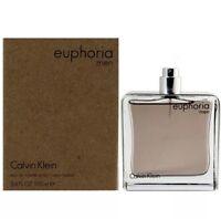 EUPHORIA for Men by Calvin Klein Cologne 3.4 oz 100.ML New tester