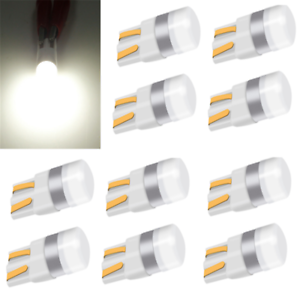 10X-Canbus-T10-LED-Bulb-W5W-3030-SMD-Car-Width-Light-Interior-Reading-Lamp-White