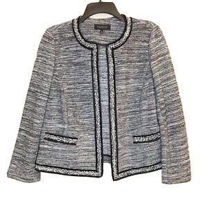 Talbots Open Front Blazer Jacket Women's Size Medium M