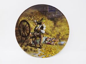 034-Rumpelstilzchen-034-Collectible-Plate-Grimm-039-s-Fairy-Tales-Series