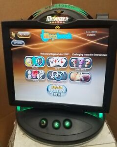 """Megatouch AURORA w/2014 Games 19"""" Display New Parts FREE Tech Support WARRANTY"""