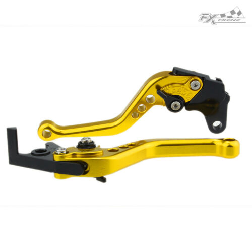 Adjustable Handle Grips Brake Clutch Levers Set Kawasaki ZX6R//636 ZX10R Z750R