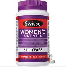 AU SELLER Swisse Women's Ultivite 50+Multi Vitamin 90 Tablets 3 Month Supply