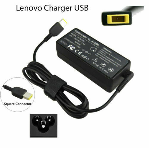 AC Adaptor Replacement Charger For IBM Lenovo Laptop USB 65W 20V 3.25A New
