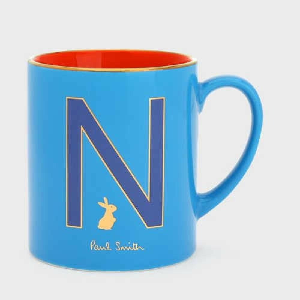 Paul Smith lapin motif initial Mug n 170 bleu ciel en céramique Japon avec suivi