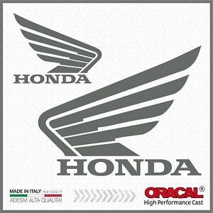 2x-Adesivi-HONDA-ala-Grigio-compatibile-con-NC700-750X-VFR1200X-CB500F-CRF1000L