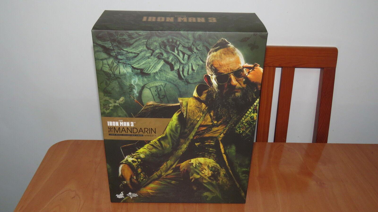 Hot Toys 1 6 MARVEL IRON MAN 3 MMS211 THE MANDARIN Empty Box