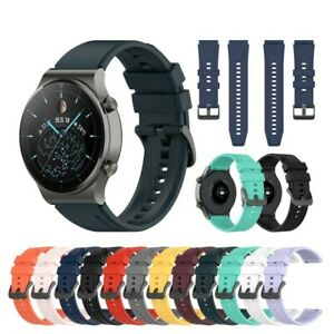 For Various Huawei SmartWatch Strap Silicone Fitness Wrist Band Gym Sports