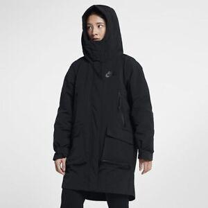 Détails sur Nike NSW Tech Pack Duck Down Fill Femme Manteau Parka Grande Taille 939493 010 NEUF afficher le titre d'origine