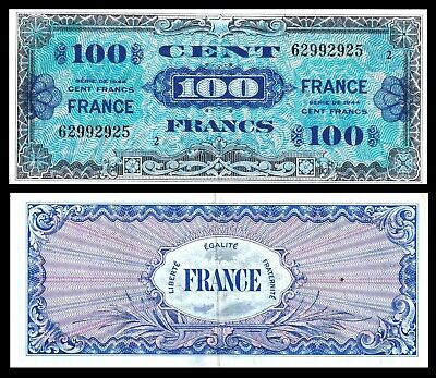 WWII AMC 5 /& 10 Franc Notes France 2 1944 Allied Military Currency
