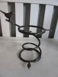 Image Is Loading Longaberger Collector Club Wrought Iron Bird Bath Stand