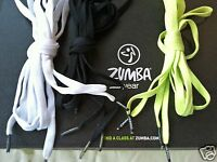 Zumba Logo Tips Shoe Laces Strings Good For Cutting Shirts & Updating Shoes