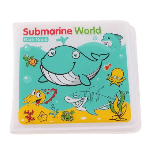 Bath Time Books Baby Kids Educational Learn Toys Floating Plastic Waterproof